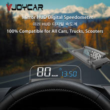 Affichage tête haute pour voiture OBD, Version mise à jour, affichage numérique HUD, projecteur de vitesse, avertissement de vitesse, GPS, compteur de vitesse