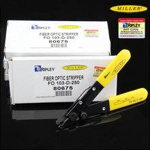 Original imported Miller Fiber Optic Stripper FO103-D-250 double port fiber loose tube stripping pliers 80675 900μm 250μm 125μm