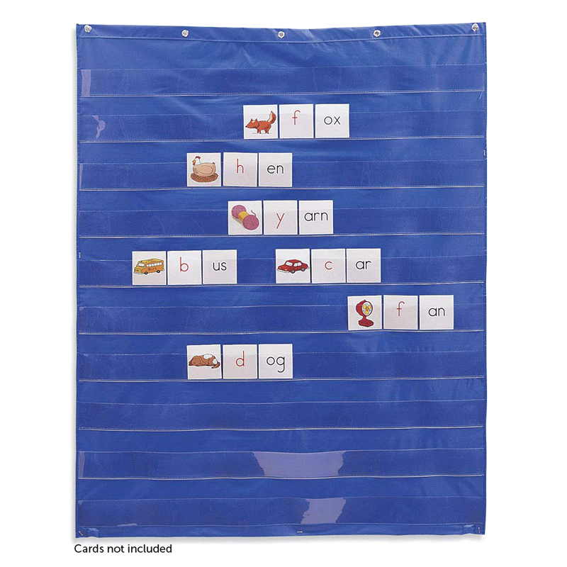 Learning Resources Standard Pocket Chart Education For Home Scheduling Classroom FO Sale