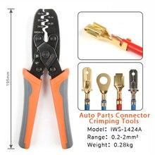 IWS 1424A DR 1 crimping Plier עבור Molex סגנון דלפי AMP טייקו מסופים מלחץ רכב מסוף מלחץ חיווט לרתום כלי