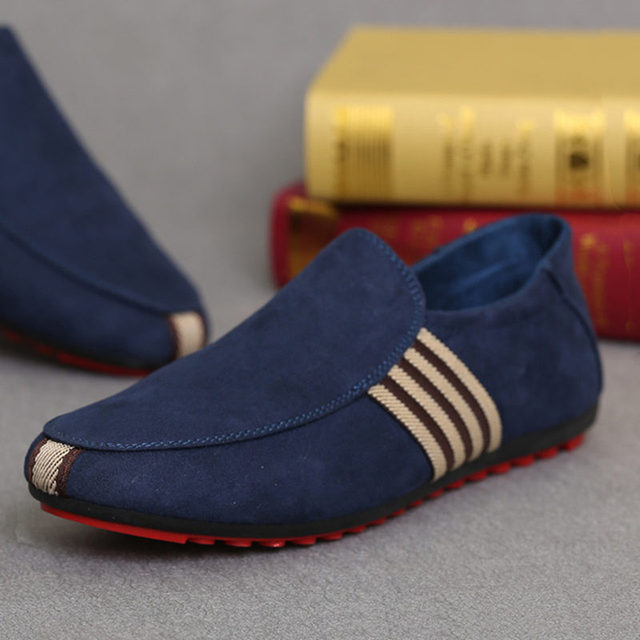 Mazefeng 2019 New Spring Men Canvas Loafers Driving Shoes Moccasins Summer Fashion Men's Casual Shoes Flat Breathable Lazy Flats 2
