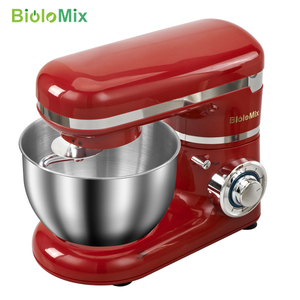 Image 2 - 1200W 4L 6 speed Keuken Elektrische Voedsel Stand Mixer Garde Blender Cake Deeg Brood Mixer Maker Machine
