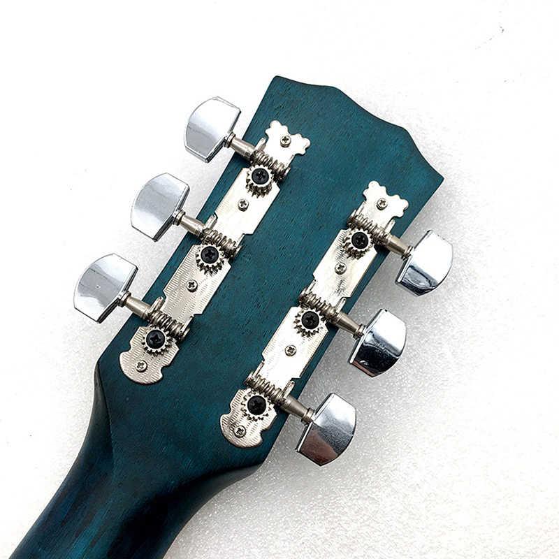 para Guitarra El/éctrica y Ac/ústica Herramienta Multifuncional 3 en 1 Cortador de Cuerda gotyou 6 Piezas 3L3R Clavijas de Afinaci/ón de Guitarra Cerrado Sintonizadores de Bloqueo