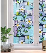 LUCKYYJ Static Cling Decorative Window Film Privacy Self Adhesive Door Covering for UV Blocking Heat Control Glass Tint Stickers luckyyj privacy window film 3d static decoration self adhesive film for uv blocking heat control glass window stickers