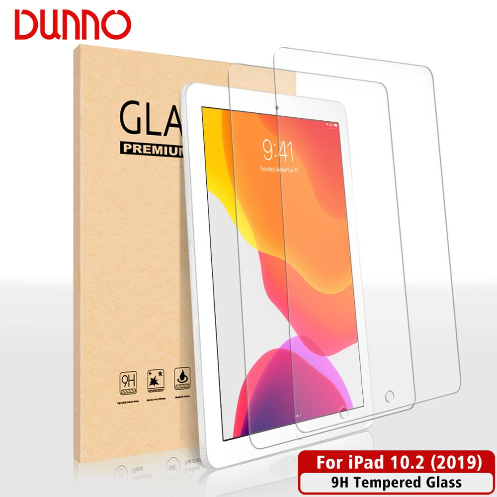 2PCS Tempered Glass Protective Film For IPad 10.2 Screen Protector Glass Apple IPad 7th Generation Screen Film Aipad Protection