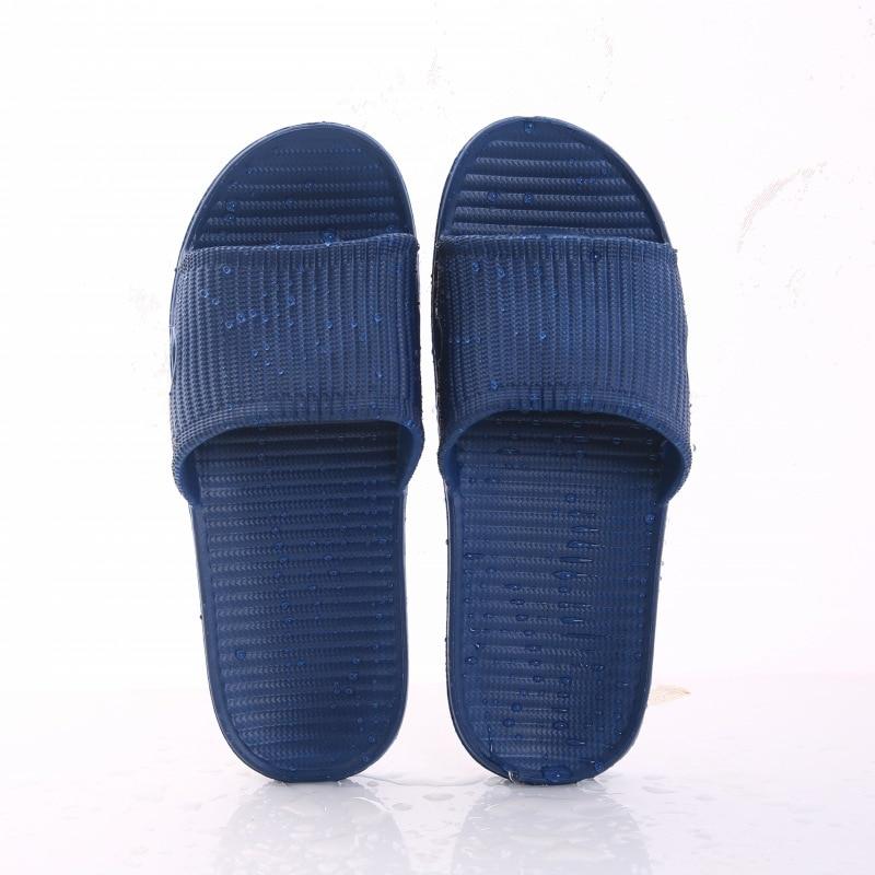 New Women Indoor Floor Flat Shoes Summer Non-slip Flip Flops Bath Home Slippers Female Slipper Comfortable Zapatillas de hombre 6