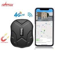 Localizador de vehículos WCDMA TKSTAR rastreador GPS de coche TK905, 4G, LTE, 3G, resistente al agua, con imán, espera de 90 días, seguimiento gratuito en tiempo Real