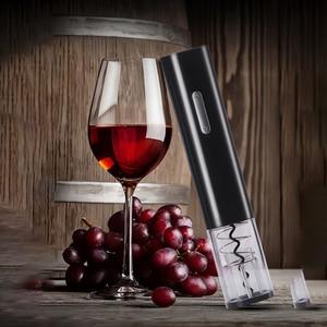 Электрический штопор для бутылок вина, штопор с ФРЕЗОЙ, аксессуары Kichen, прикольные гаджеты, использование сухого аккумулятора, вечерние, от...