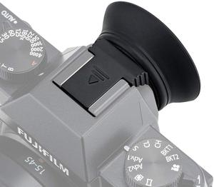 Image 3 - Eyecup göz kupası vizör bağlar kolay ve güvenli bir şekilde ile sıcak ayakkabı Fujifilm X T30 X T20 X T10 XT30 XT20 XT10