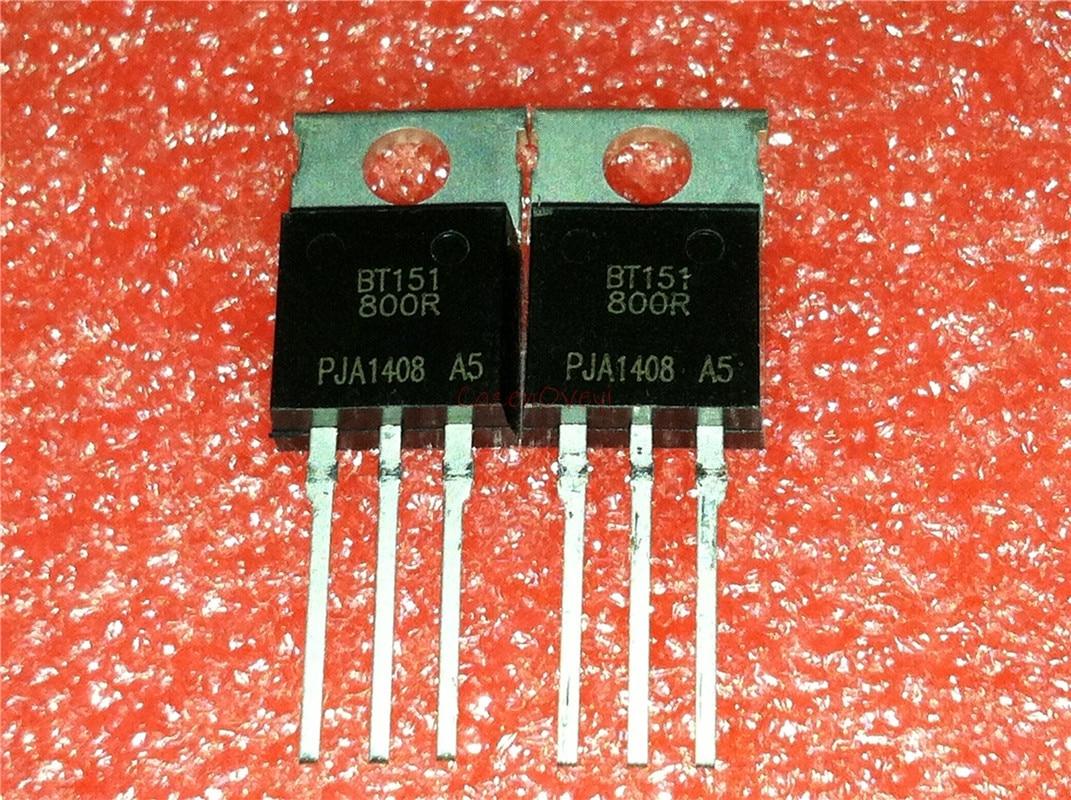 10pcs/lot BT151-800R BT151 TO-220 7.5A 800V New Original In Stock