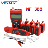 Noyafa NF388 Cat5 Cat6 RJ11 RJ45 Detector Telephone Wire Tracker Tracer Professional Multi Functional Network Cable Tester