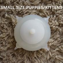Dondong-cuenco de leche con burbujas para mascotas, alimentador de leche para cachorros y gatitos