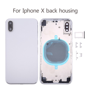 Image 2 - 10Pcs Replacement For iphone 8 Plus X XR XS MAX 8G 8P Back Housing cover Battery glass Rear Door Chassis Frame Parts