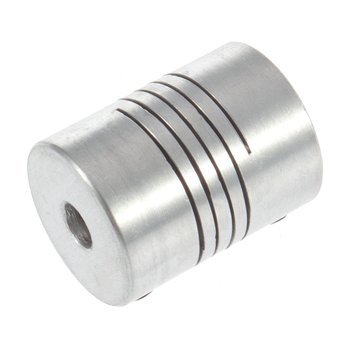 5x8mm, eje de mordaza de Motor, acoplador de 5mm a 8mm, acoplamiento OD Flexible, 19x25mm, venta al por mayor
