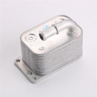 HODEE מחליף חום שמן Cooler עבור פיג 'ו 307 308 407 807 סיטרואן C4 C5  OE: 5989070251 / 1103N3 / 3221470 / 1103.N3