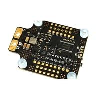 Matek MATEKSYS F405-SE BetaFlight F405 Controllore di Volo Built-in Osd PDB 5V/2A BEC Sensore di Corrente per RC Drone Sostituire F405-CTR