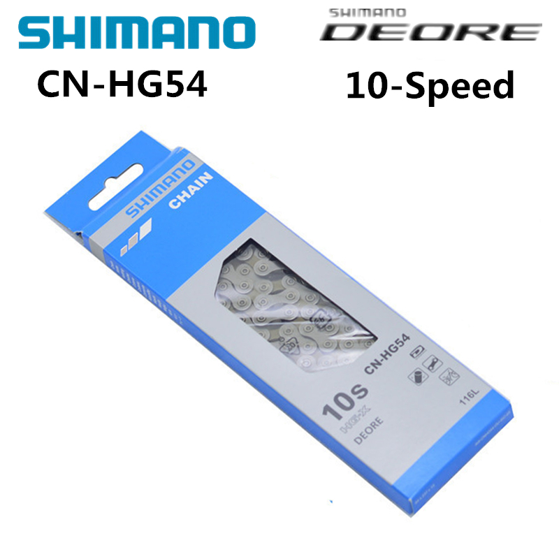 Shimano Bike Chain Bicycle MTB Deore CN-HG54 HG-54 10-Speed HG-X