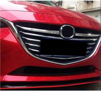 Front grille trims car styling case for Mazda 3 Axela 2014 2015,ABS chrome,11pcs/set ,auto accessories