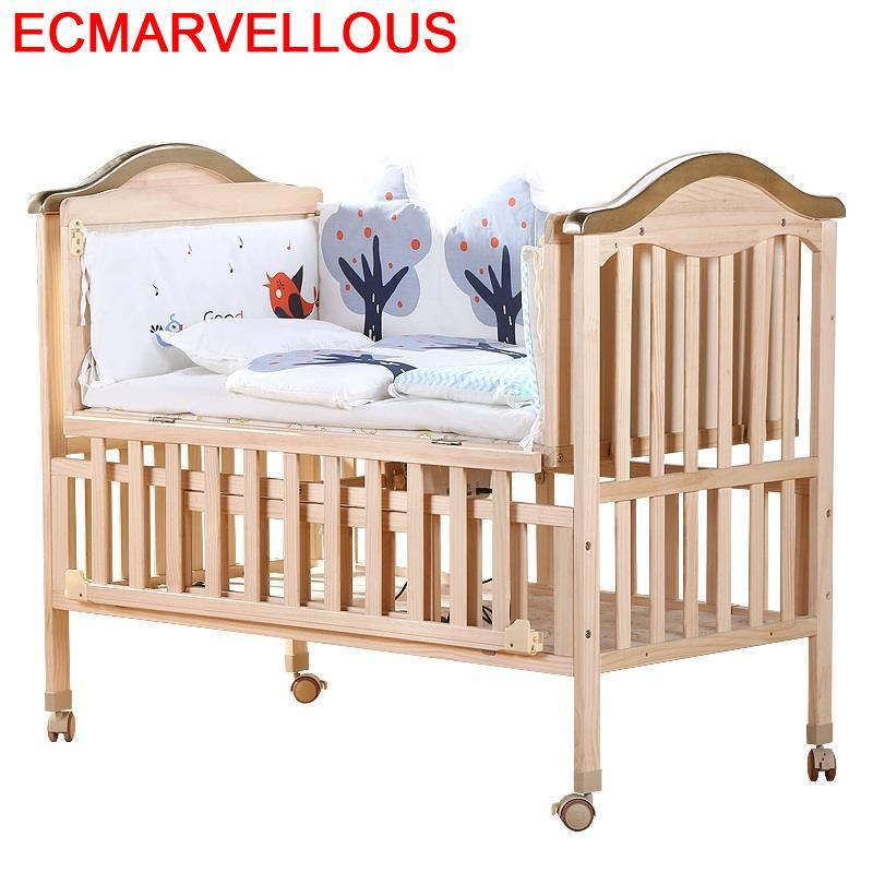 Infantil Lozeczko Dzieciece Kinderbed Children's Lit Fille Letti Per Bambini Wooden Kinderbett Children Chambre Enfant Kid Bed