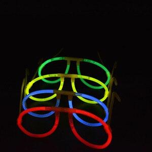 Image 5 - Светящиеся палочки для очков, набор из 50 светящихся палочек из пластика, для вечеринок, концертов, Рождества