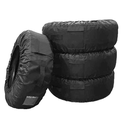 Opony pokrywa ochronna artykuły motoryzacyjne opon akcesoria do toreb wymienny dla 13 20 Cal pokrowiec na opony w Akcesoria do opon od Samochody i motocykle na