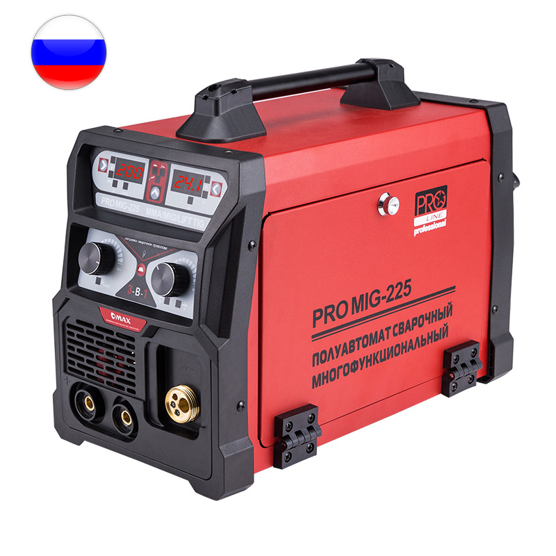 PRO MIG-255 MIG Inverter Welding Machine (MIG-MMA-TIG)  OMAX G0012