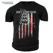 Brand Clothing 2019 Male Harajuku Top Fitness Grunt Style DonT Stomp On Me MenS T-Shirtfunny T Shirt