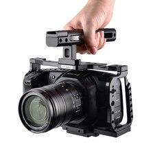 ييلانجو C9 كاميرا قفص تلاعب ل BMPCC 4K 6K بلاكماجيك تصميم جيب سينما أسود كاميرا سحرية مع لوحة سريعة و مقبض علوي