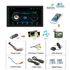 Image 5 - Podofo 2 din Android 9.1 Car Radios GPS Multimedia Player Universal auto Stereo For Volkswagen Nissan Hyundai Kia Toyota Mazda
