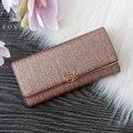 FOXER Marke Frauen Split Leder Brieftaschen Weibliche Kupplung tasche Mode Münze halter Luxus Handtasche für Dame frauen Lange brieftasche Geldbeutel Gepäck & Taschen -