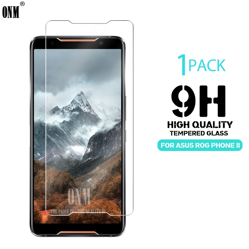 Tempered Glass For Asus ROG Phone II 2 Screen Protector 2.5D 9H Tempered Glass For Asus ROG Phone 2 Protective Film
