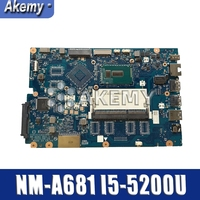 PARA For Lenovo Ideapad 100-15IBD Laptop Motherboard 5B20K25458 SR23Y I5-5200U CG410/CG510 NM-A681