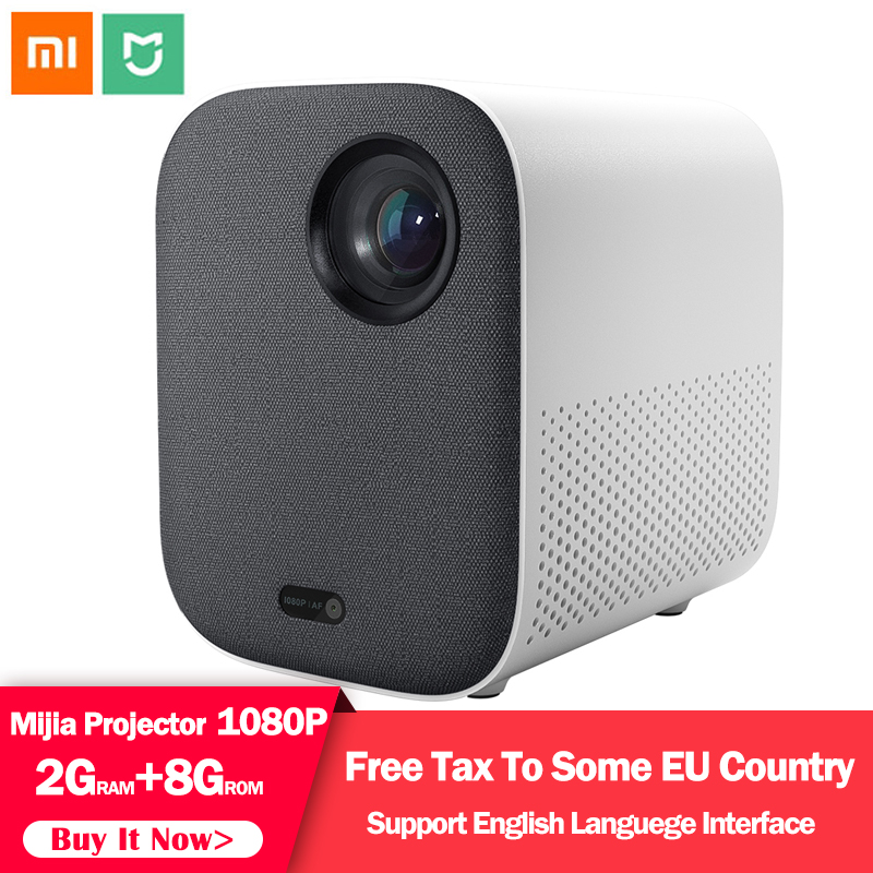 Xiaomi Mijia Smart Projector Youth Version Full HD 1080P 2.4g/5g WIFI Projector LED Beamer TV Home Cinema Support Dolby HDR 3D