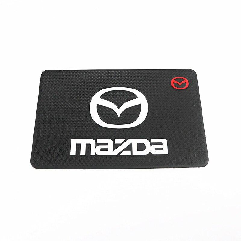 Автомобильный орнамент ПВХ Противоскользящий коврик липкий коврик автомобильный интерьер приборной панели нескользящий коврик для Mazda 2 3 6...