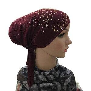 Image 2 - Hiyab gorro interior musulmán para mujer, ropa interior, islámico, para la cabeza