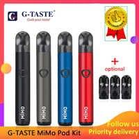 Pod Vape kit G-geschmack Mimo pod kit 450 mah eingebaute batterie 1,3 ml kapazität Seite füllung pod system kit e-cigs vs minifit veiik pod