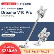 Dreame – aspirateur sans fil V10 Pro, 22kpa, filtre Cyclone, collecteur de poussière pour tapis et balayage du sol