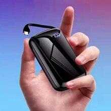 Mini Portable Phone Battery powerbank Charger Carregador Portatil Cargadores Portatiles De Celular Micro USB Power Bank Baseus