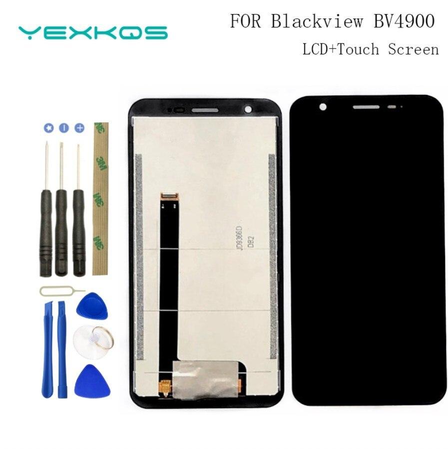 100% Оригинальный 5,7 дюймовый Blackview BV4900 ЖК-дисплей + дигитайзер сенсорного экрана протестированный ЖК-экран для Bv4900 Pro замена телефона