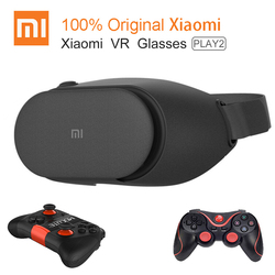Original Xiaomi VR Play 2 Virtual Reality 3D Glasses Headset Xiaomi Mi VR Play2 for 4.7- 5.7 Phone With Cinema Game Controller