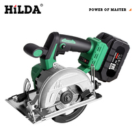 Hilda Circular Saw Power Tools with Blade Multi function Efficiency Electric Saw Rotary tool For Cutting Woodworking Tools 168FV