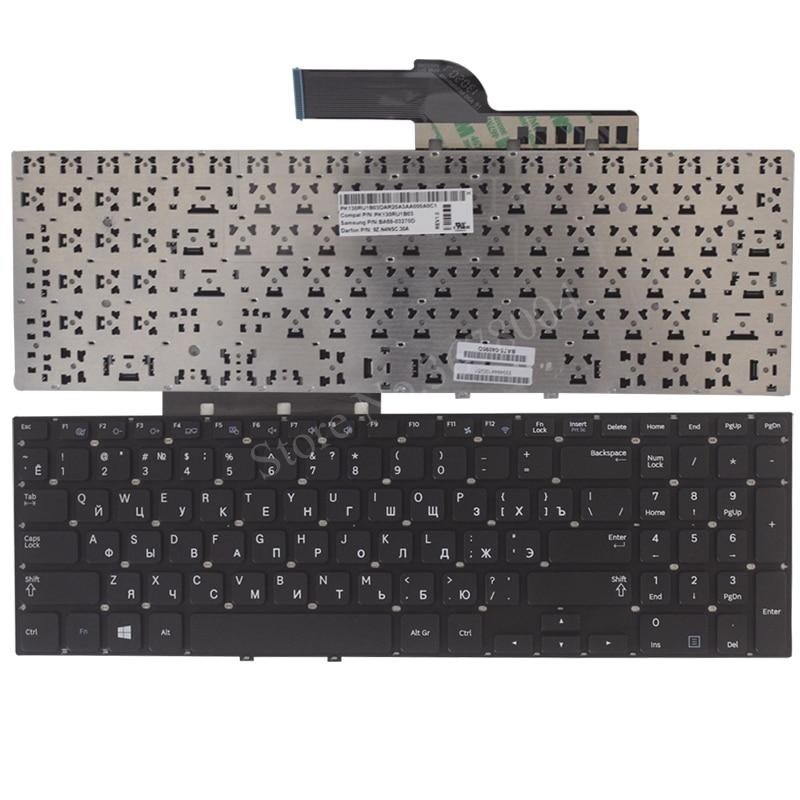 NEW Russian Keyboard for Samsung 270e5v 275e5v 275E5E 270E5E NP270E5E NP275E5E NP270E5V NP275E5V Black RU laptop keyboard