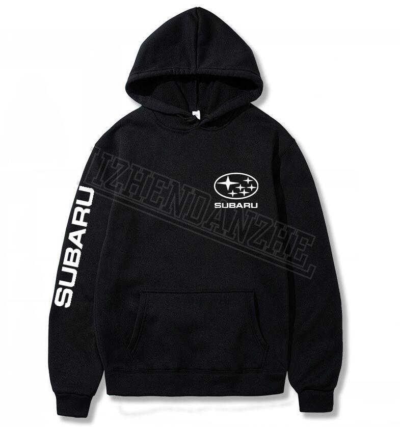 Subaru Fashion Brand Men's Car Hoodies  Spring Autumn Male Casual Hoodies Sweatshirts Auto Men And Women Sweatshirt Tops 0266