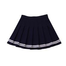 2019 Angel Mini Pleated Rave Skirt Fashion Sexy Pink Kawaii Streetwear Womens Clothing  Korean Black
