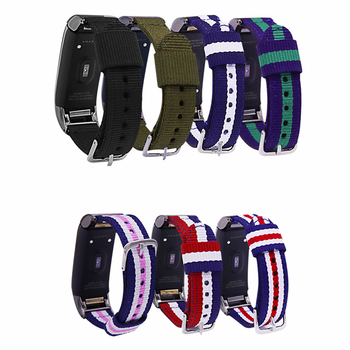 Sport smart Watch Wrist Strap Buckle Bracelet Nylon Breathable Wristband Replace Watch Accessory for Huami Amazfit COR 1 / A1702