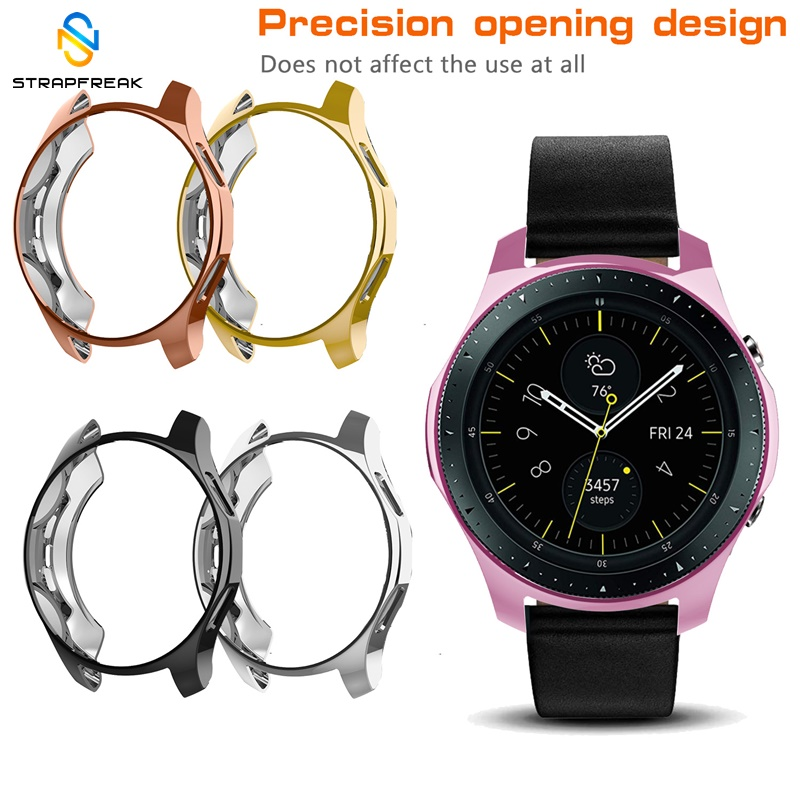 Protective Case For Samsung Galaxy Watch 42mm 46mm Protector Cover Soft Ultra-thin TPU Shell Full Protection Band For Gear S3