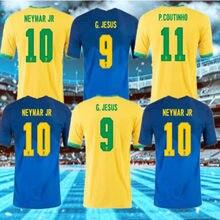 size S-4XL NEW 2020-21 BrazilES shirt NEYMAR JRl 20 21 G.JESUS MARCELO FIRMINO VINICIUS P.COUTINHO MARCELO Top Quality shirt