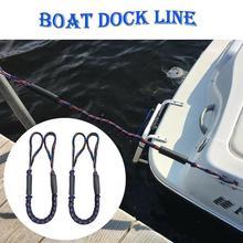 Dock Mooring-Rope Elastic Extendable Boat Dinghy Marine-Line Bungee Y2F3 PP