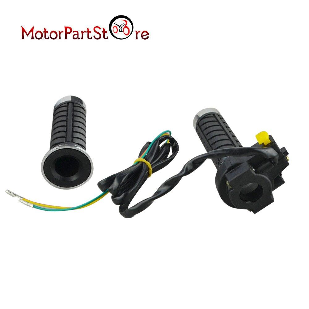 Throttle Control Handlebar Grip Kill Switch 49cc 66cc 80cc Motorized Bicycle w