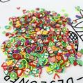 1 шт. DIY Блеск для губ Декор Блеск для губ базовый гель Ломтики наполнитель ручной работы, блеск для губ, базовый гель браслеты с подвесками, н...